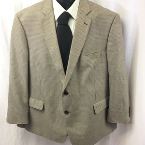 Stanford Essentials Houndstooth Sport Coat Classic